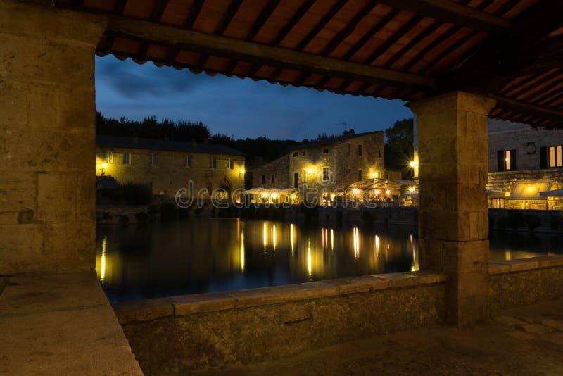 Bagno Vignoni Toscane photographie stock