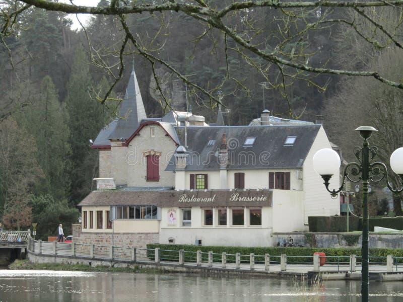 Bagnoles De Lorne Normandy Francja Europa zdjęcie royalty free