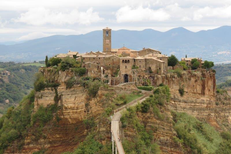 Bagnoregio. Civita di Bagnoregio - Medieval Village in Central Italy