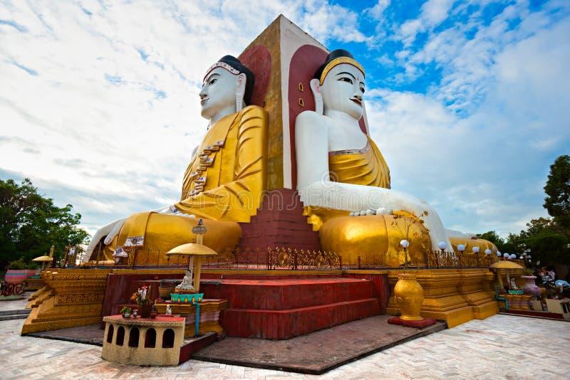 Bago, myanmar. Kyaik Pun Paya, Bago, myanmar royalty free stock photos