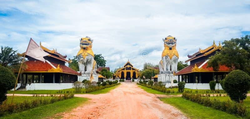 Bago Myanmar. Simulate in thailand stock photo
