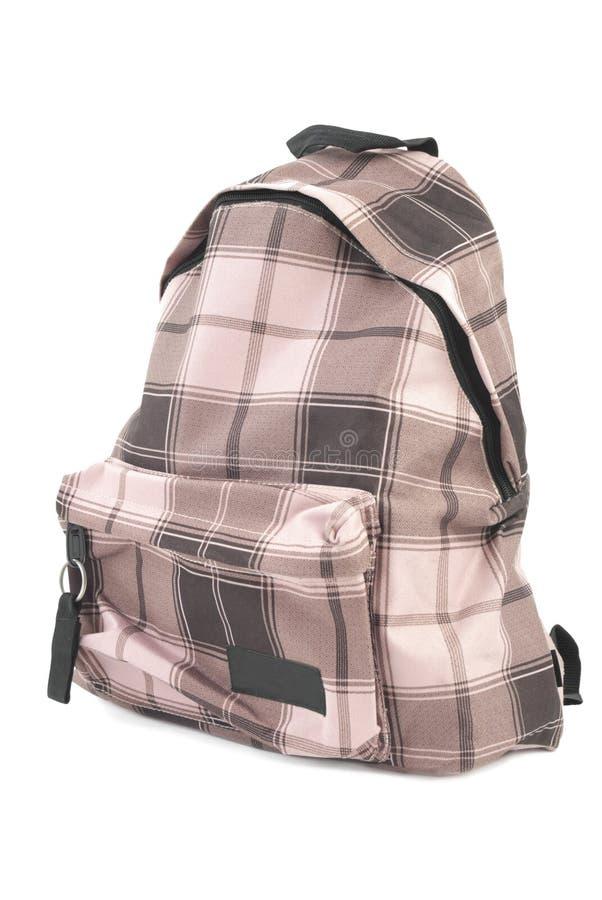 bagpack απομονωμένος στοκ εικόνες