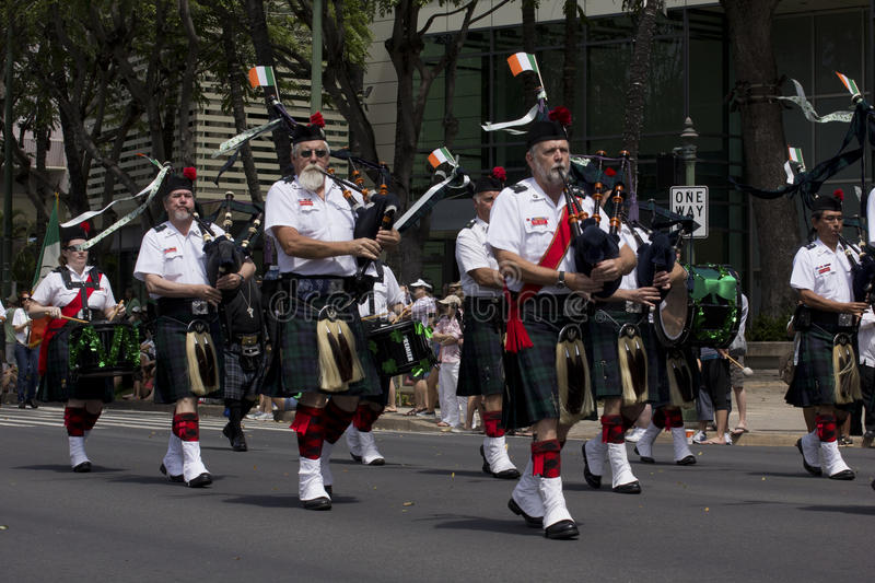 Download Bagpipe band editorial stock photo. Image of bagpipe - 24080913