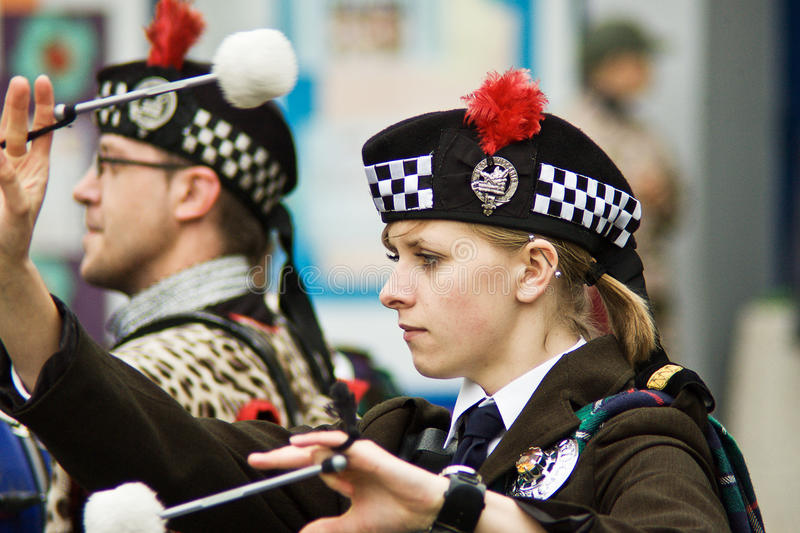 Download Bagpipers editorial photography. Image of army, events - 13401582