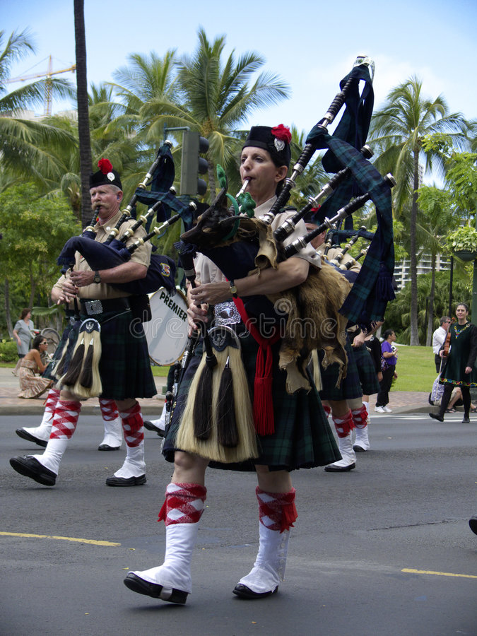 Bagpipes royalty free stock photography