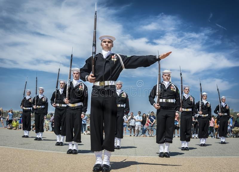 Bagpipes, Marching, Cornamuse, Air Force stock photography