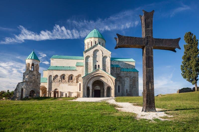 Bagrati Cathedral in Kutaisi, Georgia stock images