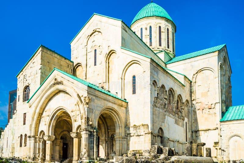 Bagratikathedraal - Kathedraal van Dormition - in Kutaisi, Georgië stock afbeelding