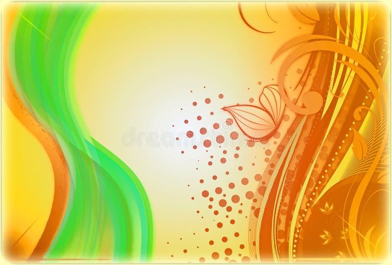 Baground abstrait multicolore par le pH photos libres de droits