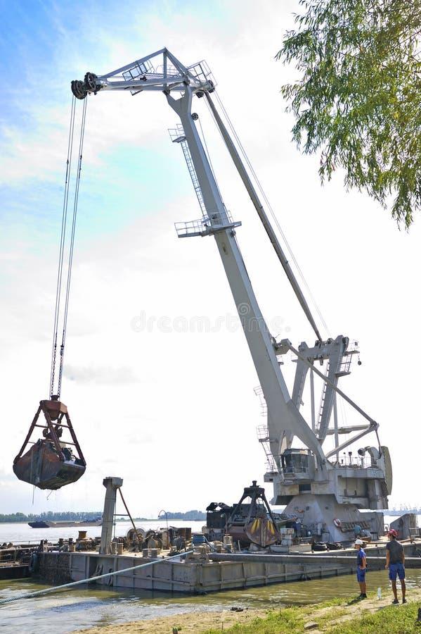 bagrownica żołnierz piechoty morskiej obrazy stock