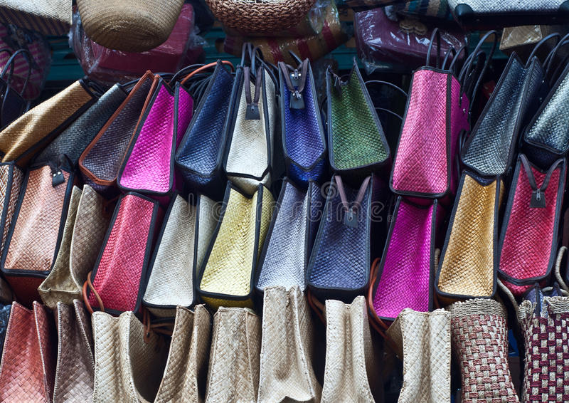 Bags in a market