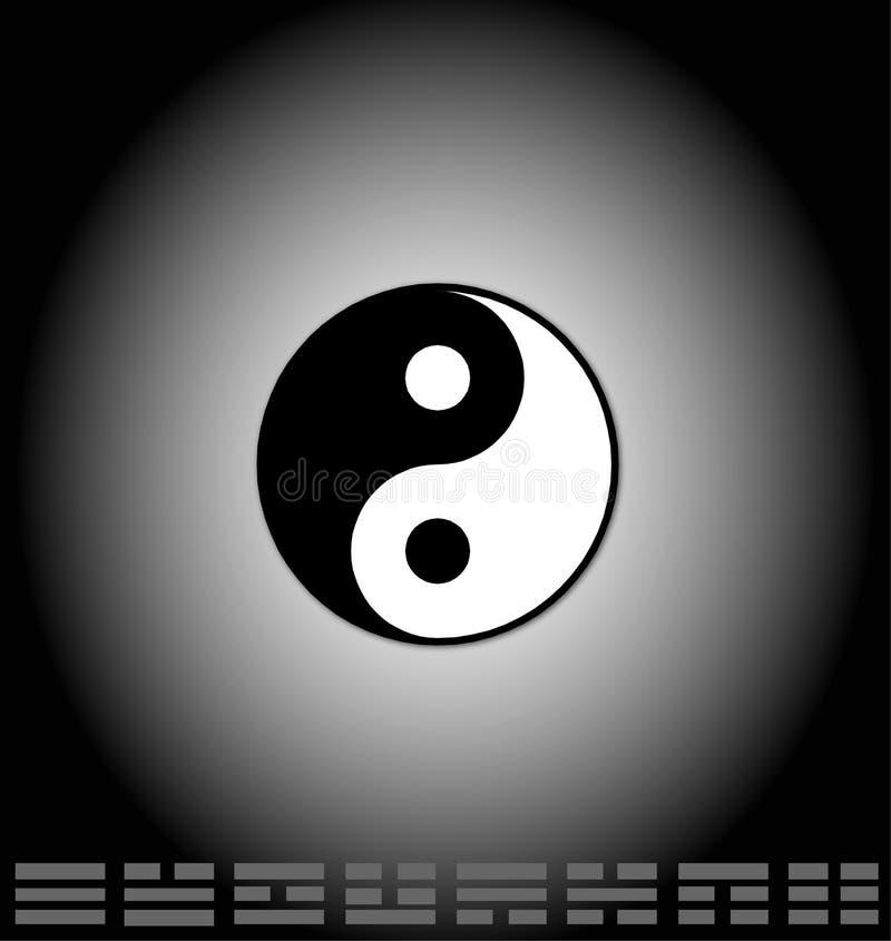 bagua杨yin 皇族释放例证
