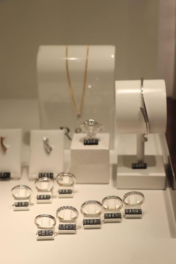 Bagues de fiançailles de diamant photo libre de droits