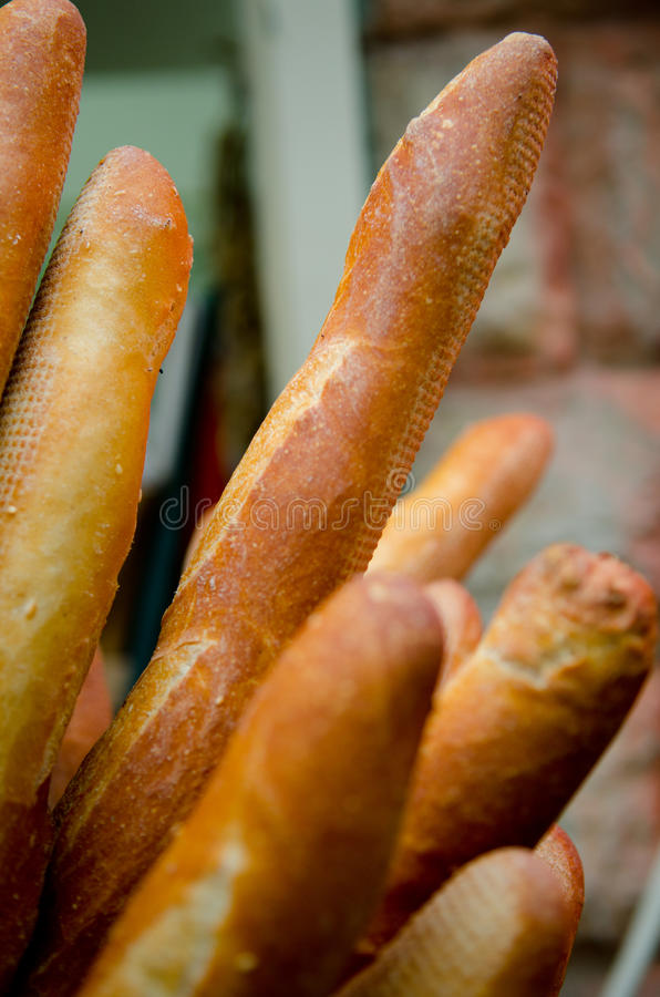 Baguette fotos de stock