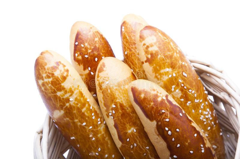 Download Baguette In Basket Royalty Free Stock Images - Image: 23083379