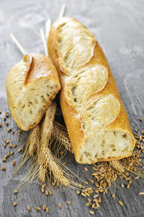 Baguette blanche images stock