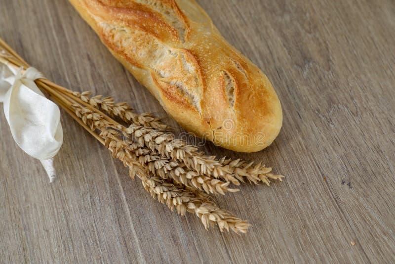 Baguette de pain français image stock