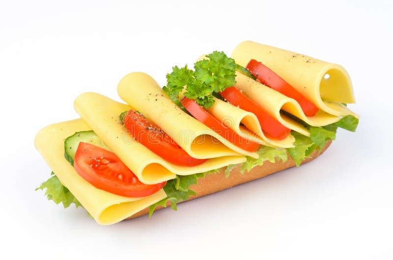 Baguette del formaggio immagini stock libere da diritti