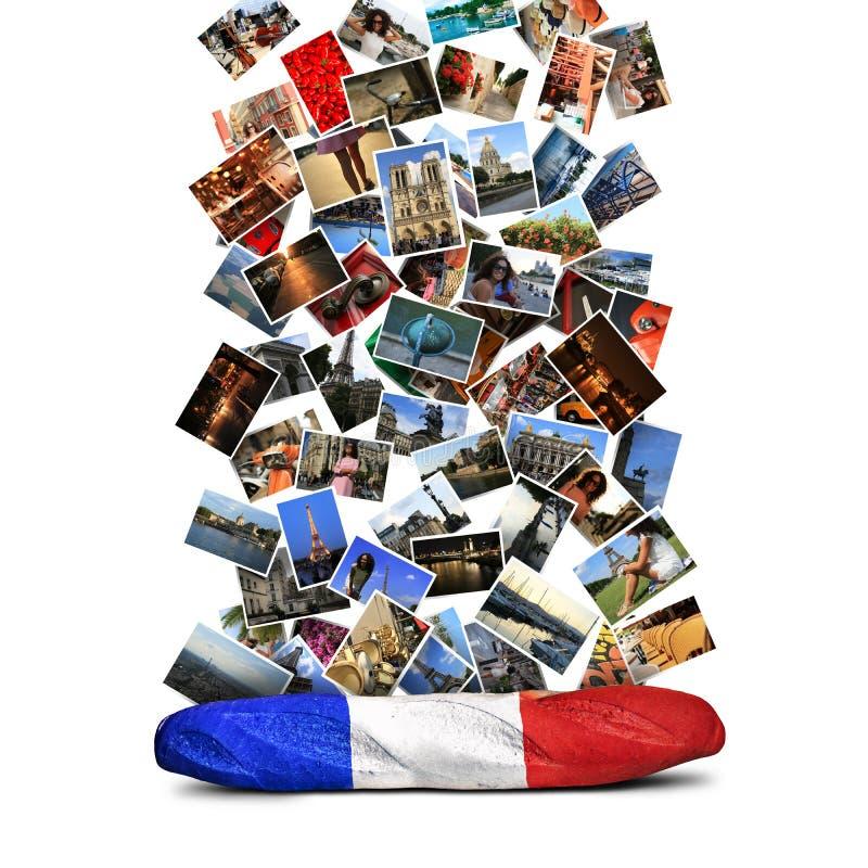 Baguette française images libres de droits