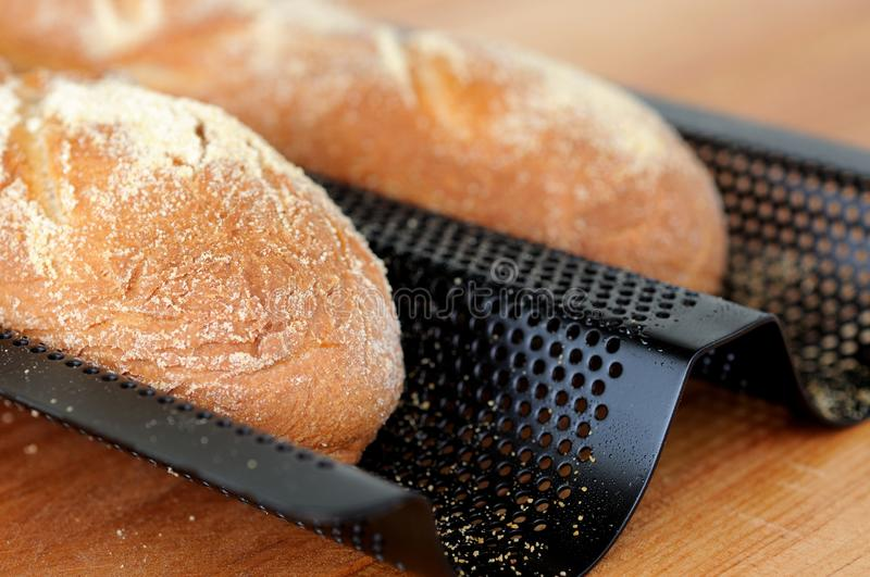 Download Baguette Francesi Di Recente Al Forno. Immagine Stock - Immagine di freshly, pane: 30830305
