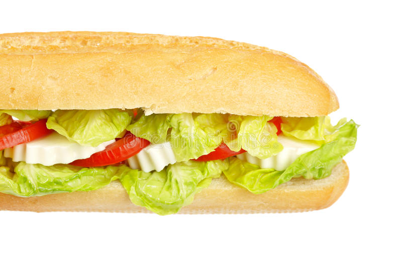 Baguette sandwich royalty free stock photography