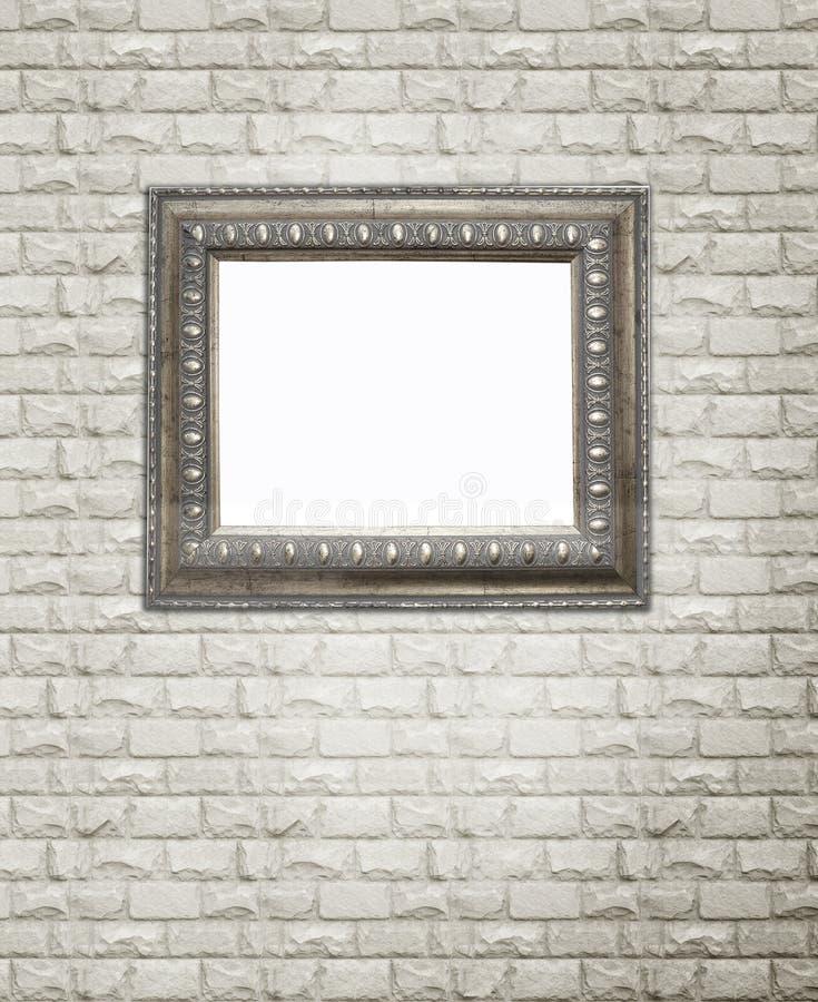 Baguette scolpite antiche sulla parete di pietra grigia immagini stock libere da diritti
