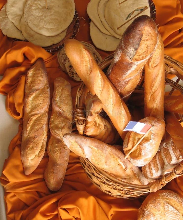 Baguettes francesi immagini stock