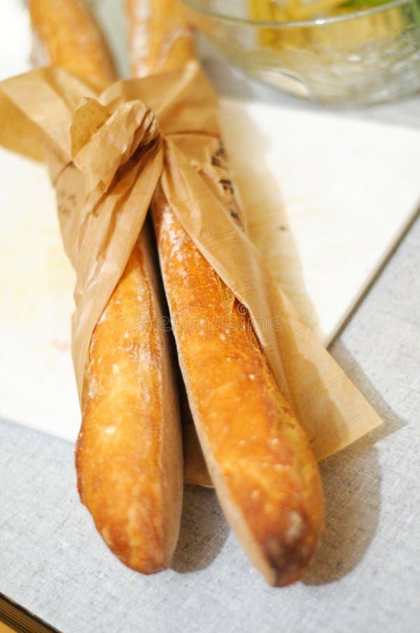 Baguettes francesi freschi fotografia stock libera da diritti