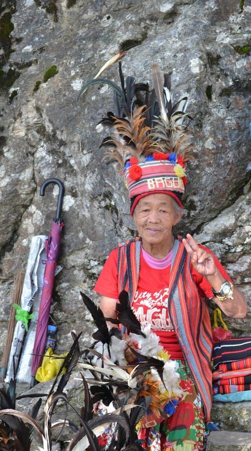 Baguio stad royaltyfri bild
