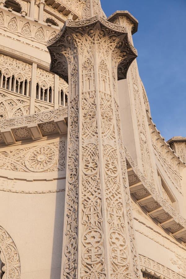 Bahá'í hus av dyrkan arkivfoton