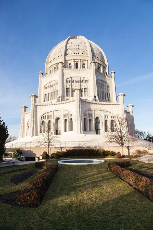 Bahá'í hus av dyrkan arkivbilder