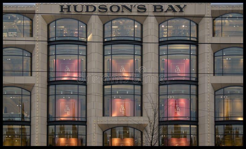 Bahía Amsterdam de Hudsons imagen de archivo libre de regalías