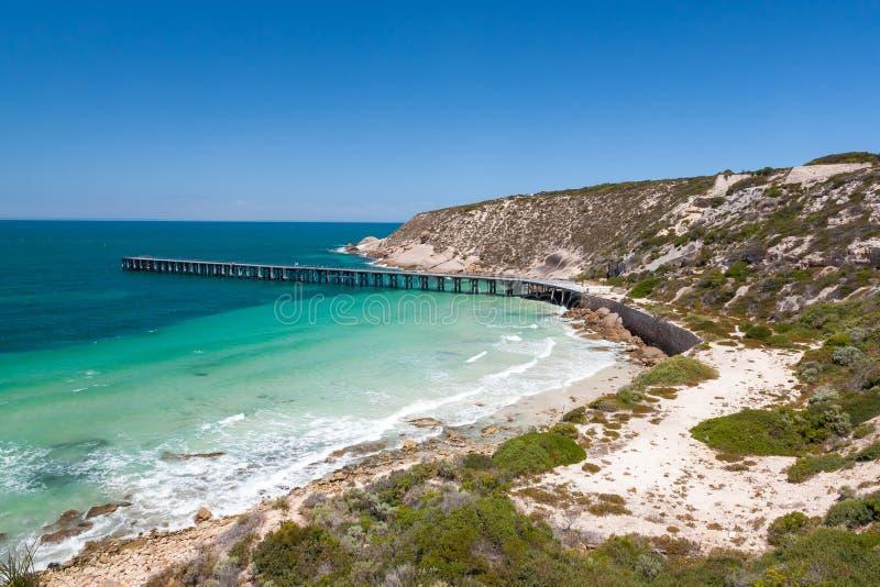 Bahía Australia de Stenhouse foto de archivo