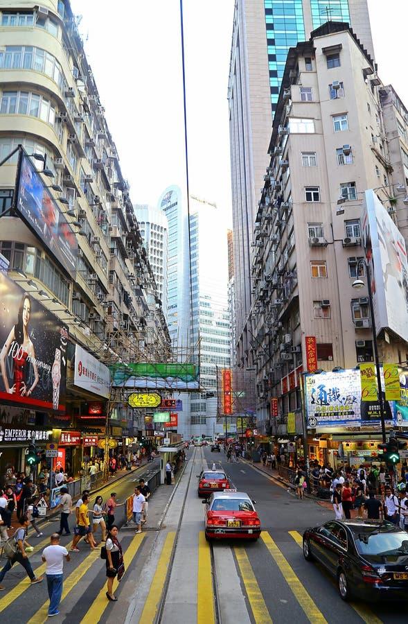 Bahía céntrica del terraplén, Hong-Kong fotografía de archivo