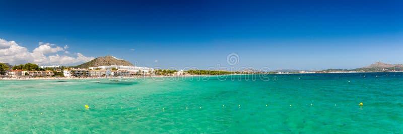 Bahía de Alcudia imagen de archivo