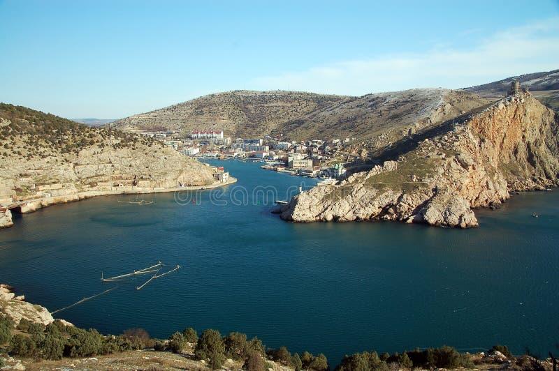 Bahía de Balaklava fotografía de archivo libre de regalías