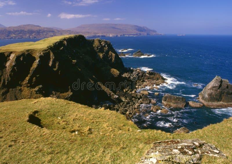 Bahía de Balnakeil, Sutherland, Escocia fotografía de archivo