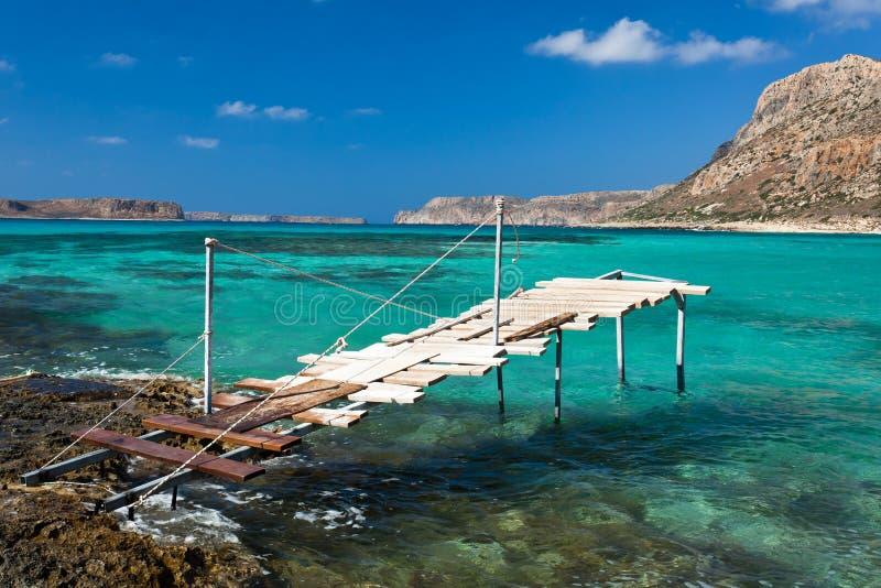 Bahía de Balos (Crete, Grecia) imagen de archivo libre de regalías