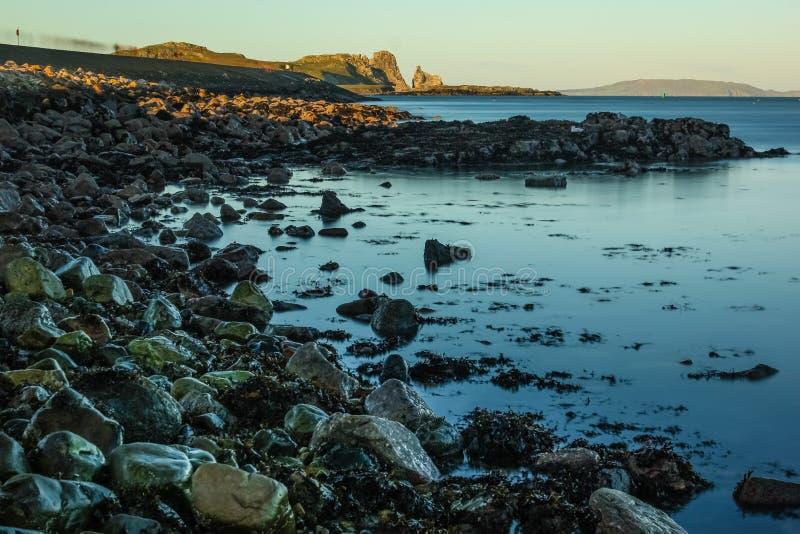 Bahía de Balscadden Howth irlanda fotos de archivo