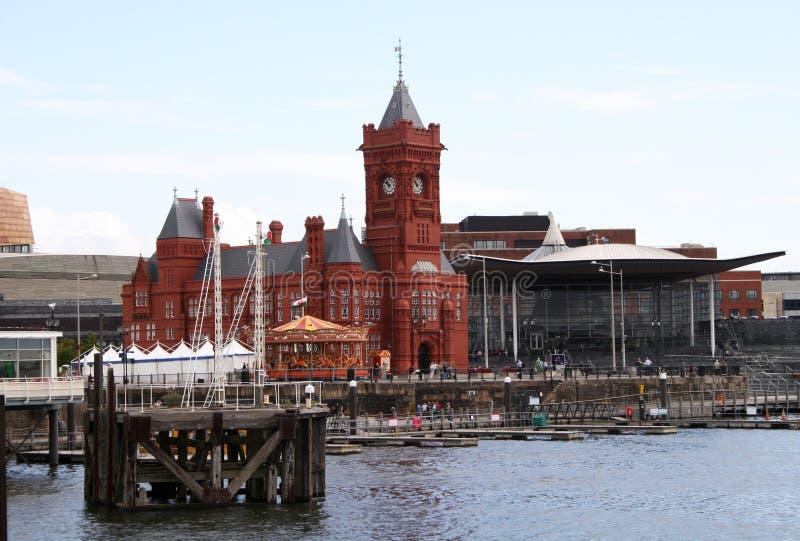 Bahía de Cardiff imagen de archivo libre de regalías