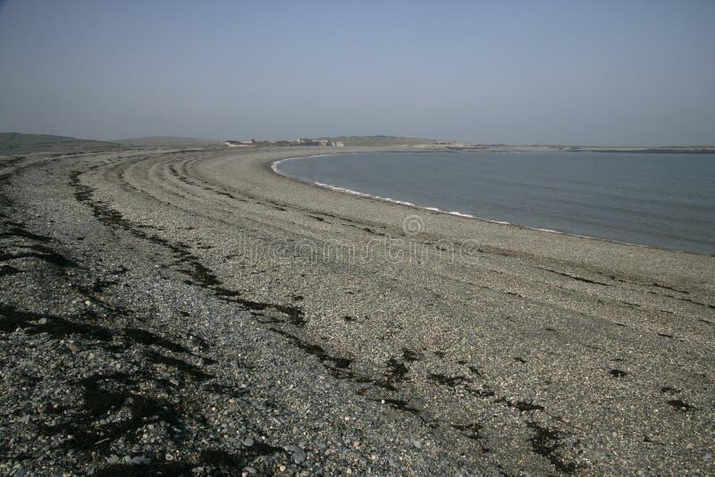 Bahía de Cemlyn foto de archivo libre de regalías