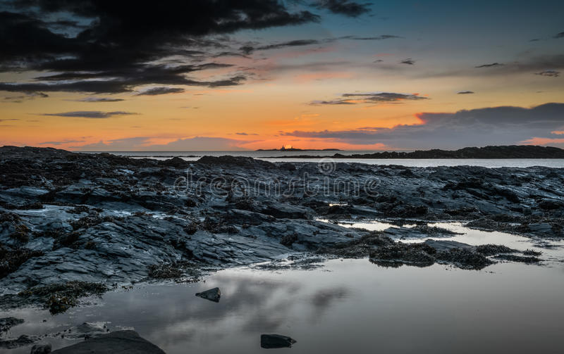 Bahía de Cemlyn fotografía de archivo libre de regalías