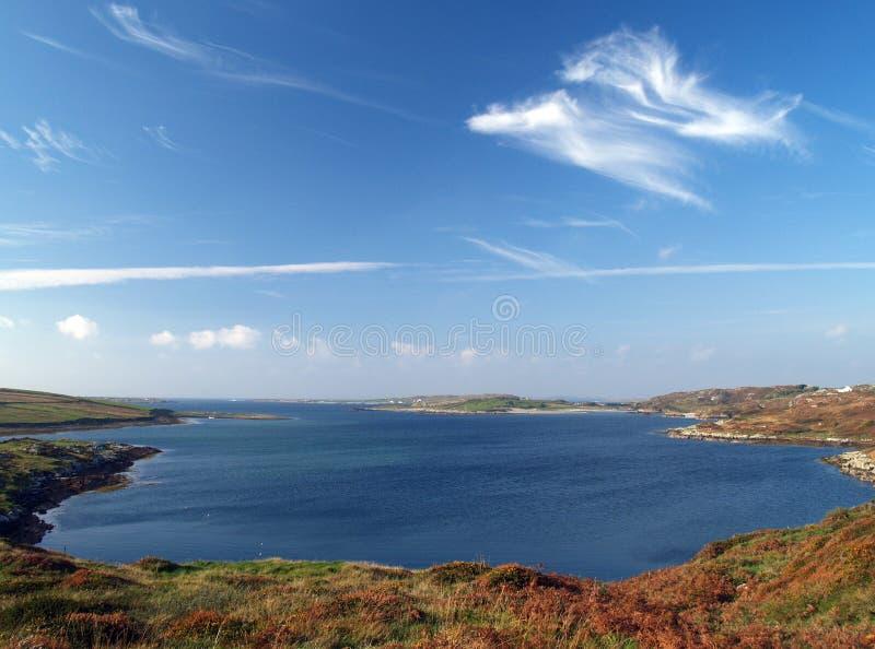 Bahía de Clifden foto de archivo libre de regalías