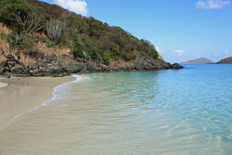 Bahía de Coki en St Thomas fotografía de archivo libre de regalías