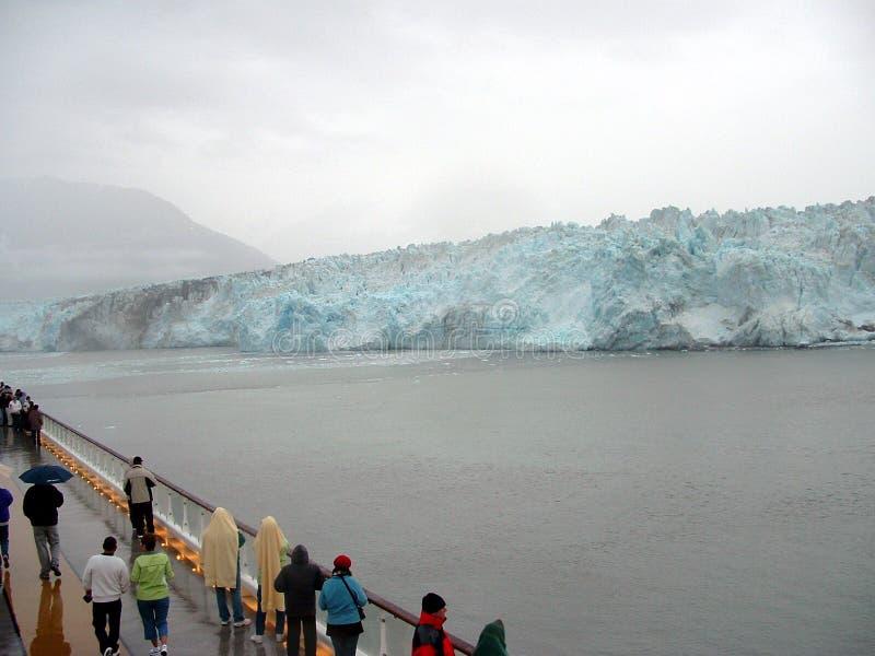 Bahía de glaciar Alaska foto de archivo