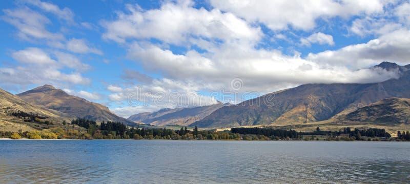 Bahía de Glendhu, NZ imagenes de archivo