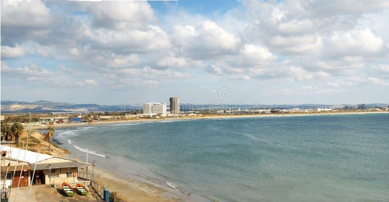 Bahía de Haifa fotografía de archivo libre de regalías