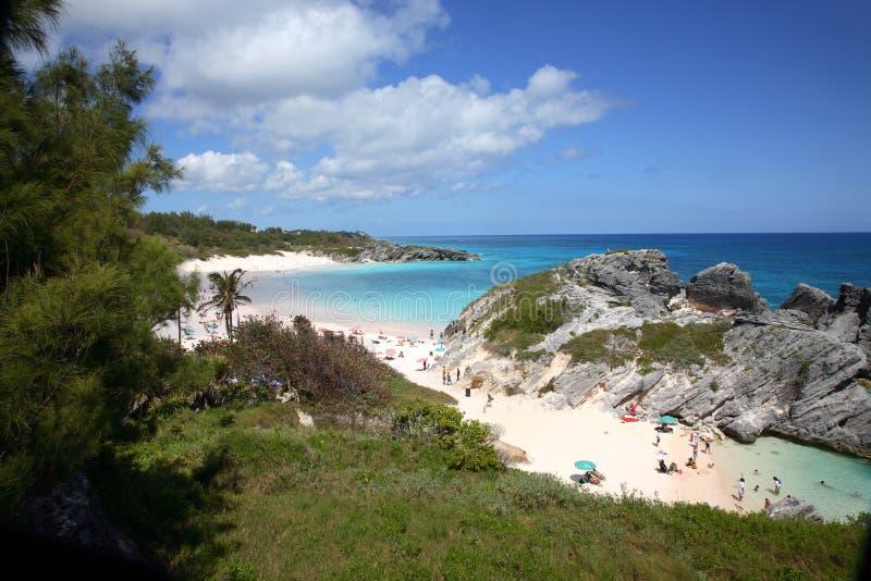 Bahía de herradura, Bermudas imagenes de archivo