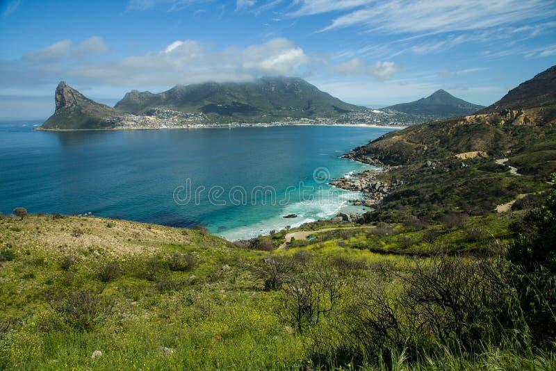 Bahía de Hout en la provincia de Western Cape de Suráfrica fotos de archivo libres de regalías