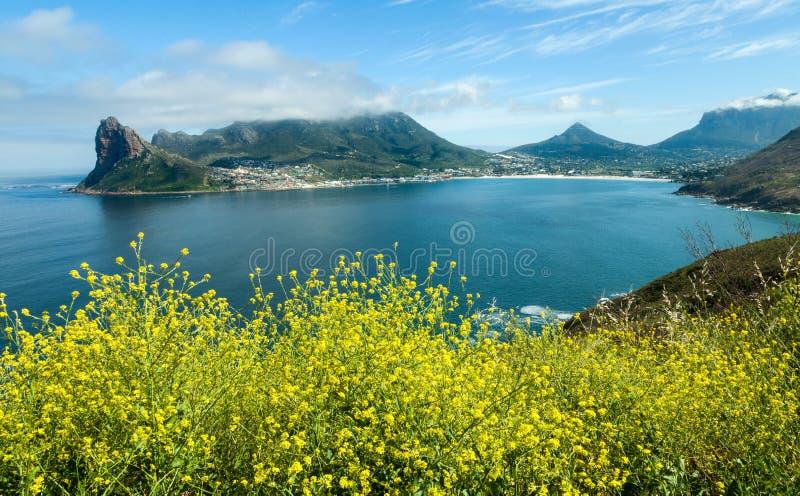 Bahía de Hout en la provincia de Western Cape de Suráfrica imagenes de archivo